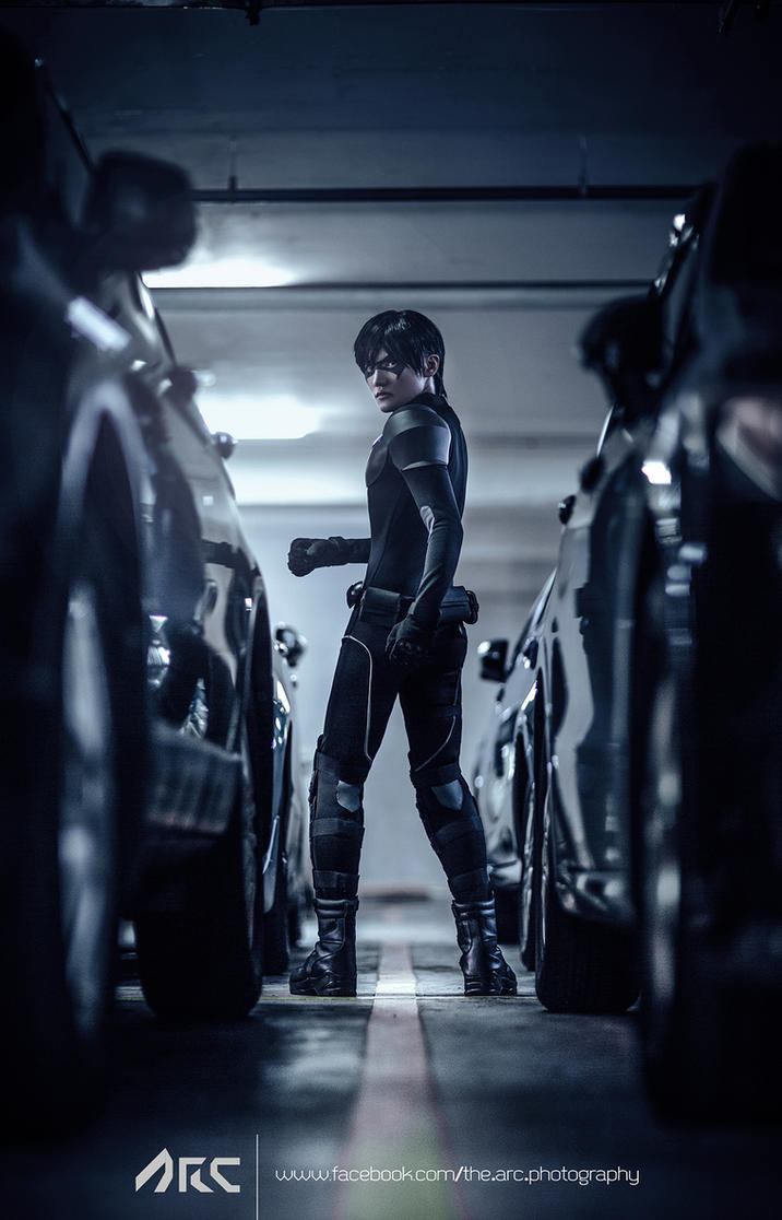 Nightwing Young Justice Cosplay by liui-aquino