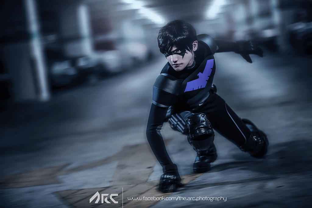 Nightwing Young Justice Cosplay by Liui by liui-aquino on ...