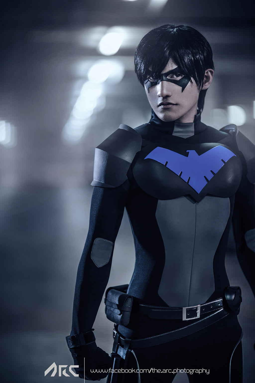 Nightwing young justice cosplay by liui by liui aquino on deviantart - Pictures of nightwing from young justice ...