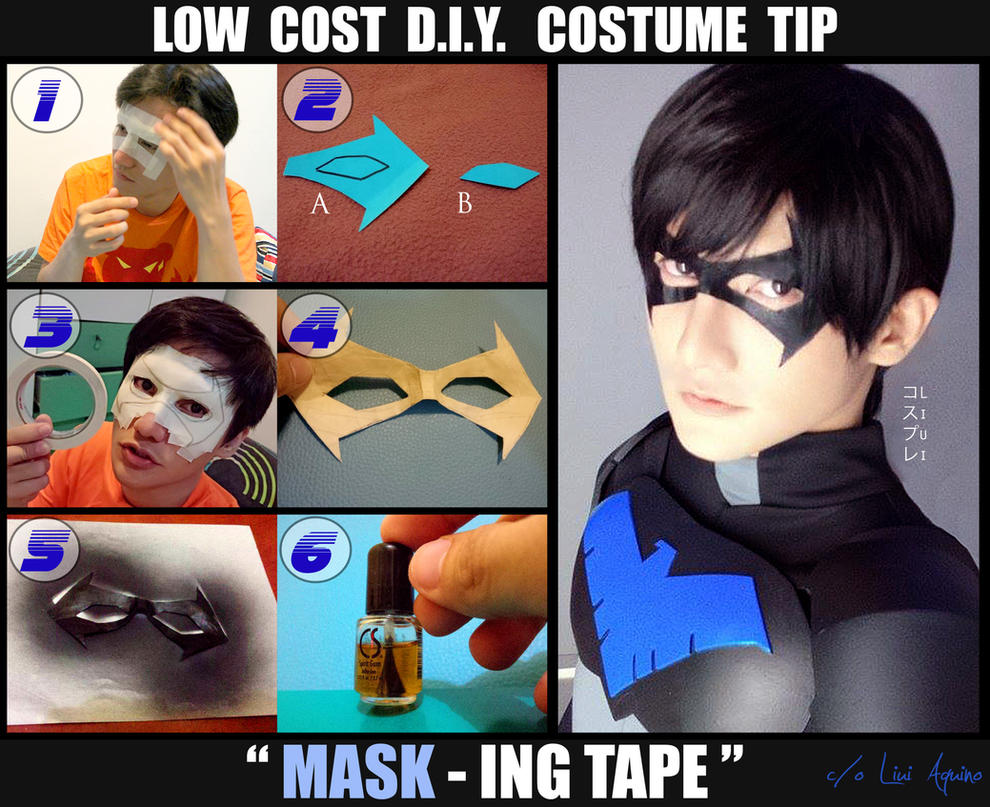 How To Make A Face Mask. by liui-aquino