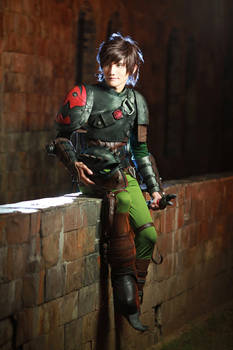 Hiccup Cosplay - How To Train Your Dragon 2