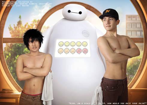 Hiro Hamada and Tadashi Hamada Cosplay