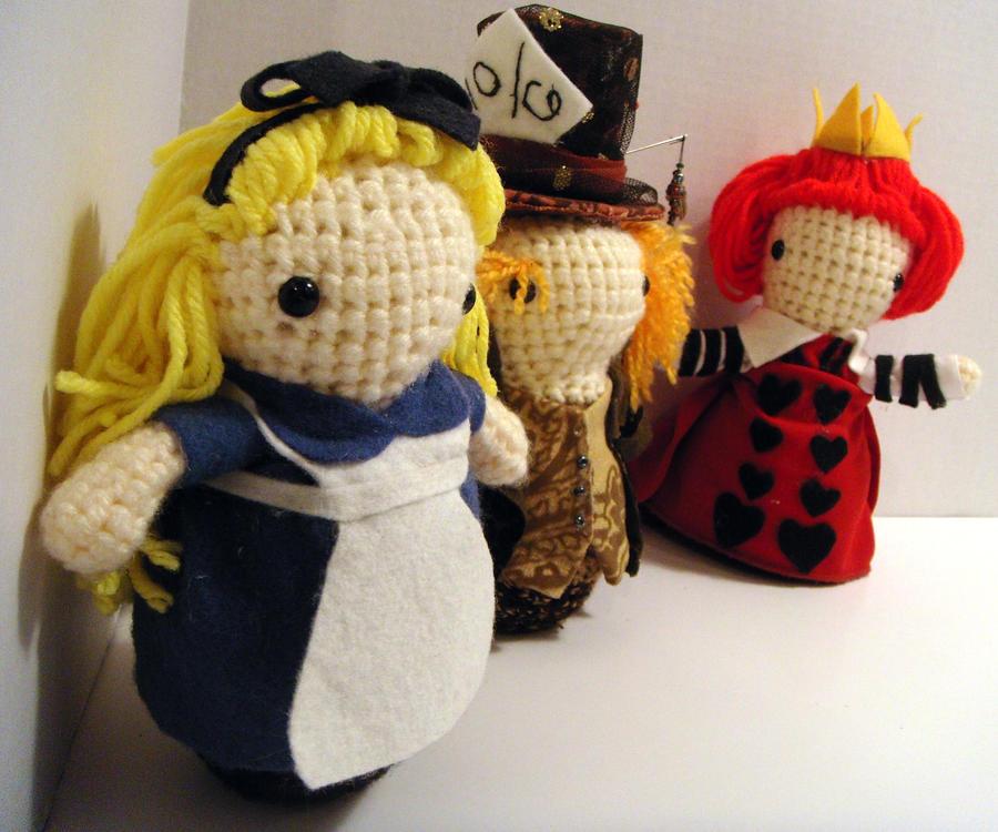 Alice in Wonderland Trio by livetoletlive