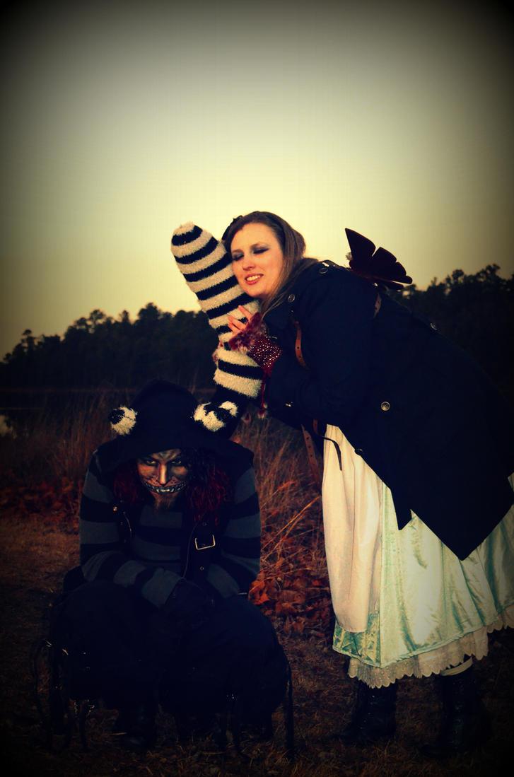 Wooden Steampunk Wings- Wonderland by livetoletlive