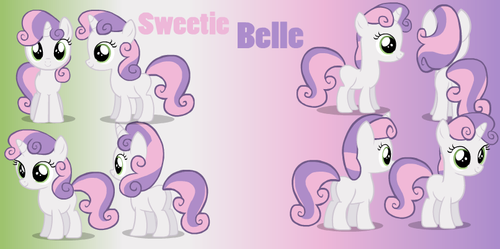 Sweetie Belle Animation Puppet Rig (updated)