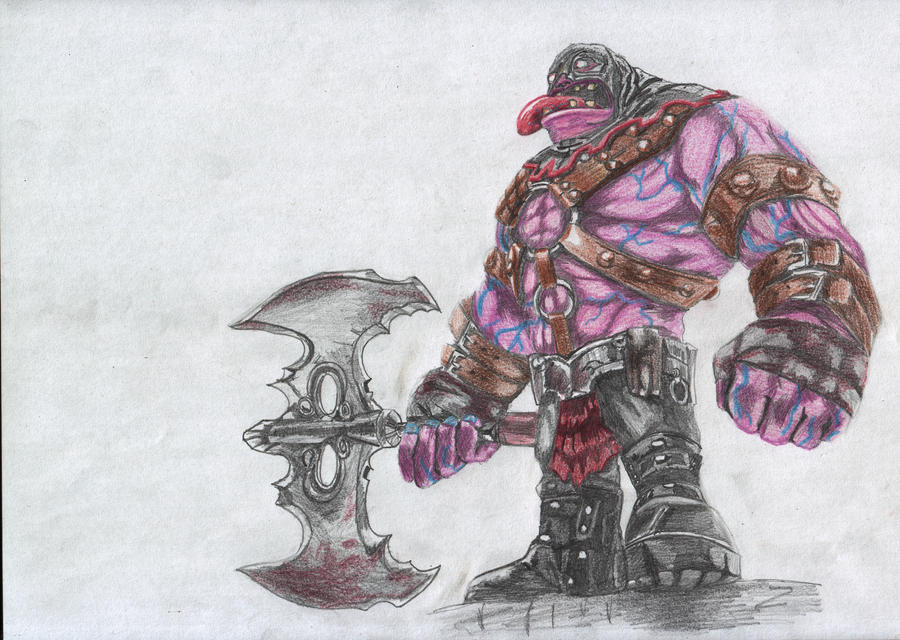 Pin Dr-mundo-executioner-league-of-legends-1215x717px-hd ...  Executioner Mundo