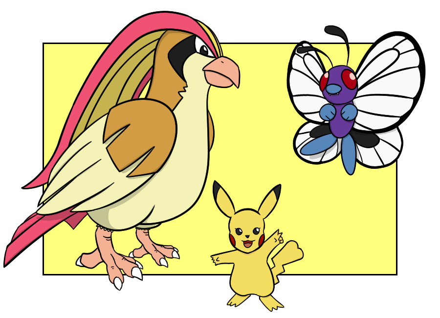 Pokemon League Champion Team (Kanto) by Armor-Angle on ...