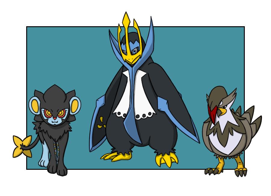 Pokemon League Champion Team (Sinnoh) by Armor-Angle on ...