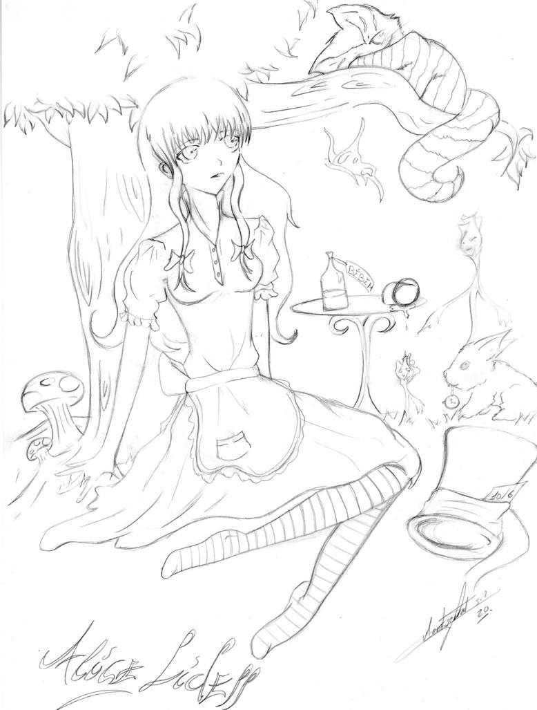 Alice Liddell by hitsuji-moon