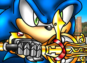 Sonic and His Sword by spdy4