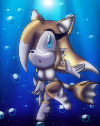 Aquatic Sarah-Artistic Nude by spdy4