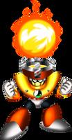 3D-ish Solar Man