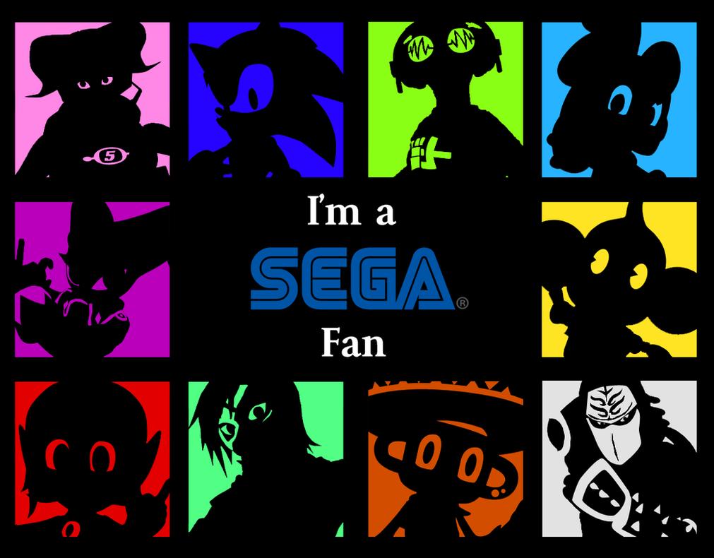 SEGA Im A Fan Wallpaper Series By Spdy4