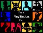 PlayStation -I'm a Fan- Wallpaper series
