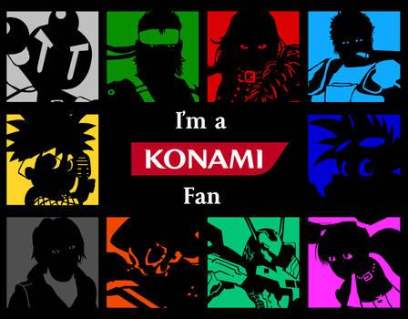 Konami -I'm a Fan- Wallpaper series