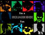 Square Enix -I'm a Fan- Wallpaper series