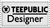 TeePublic Designer Stamp by spdy4