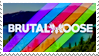BurtalMoose Stamp by spdy4