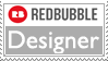 RedBubble Designer Stamp by spdy4