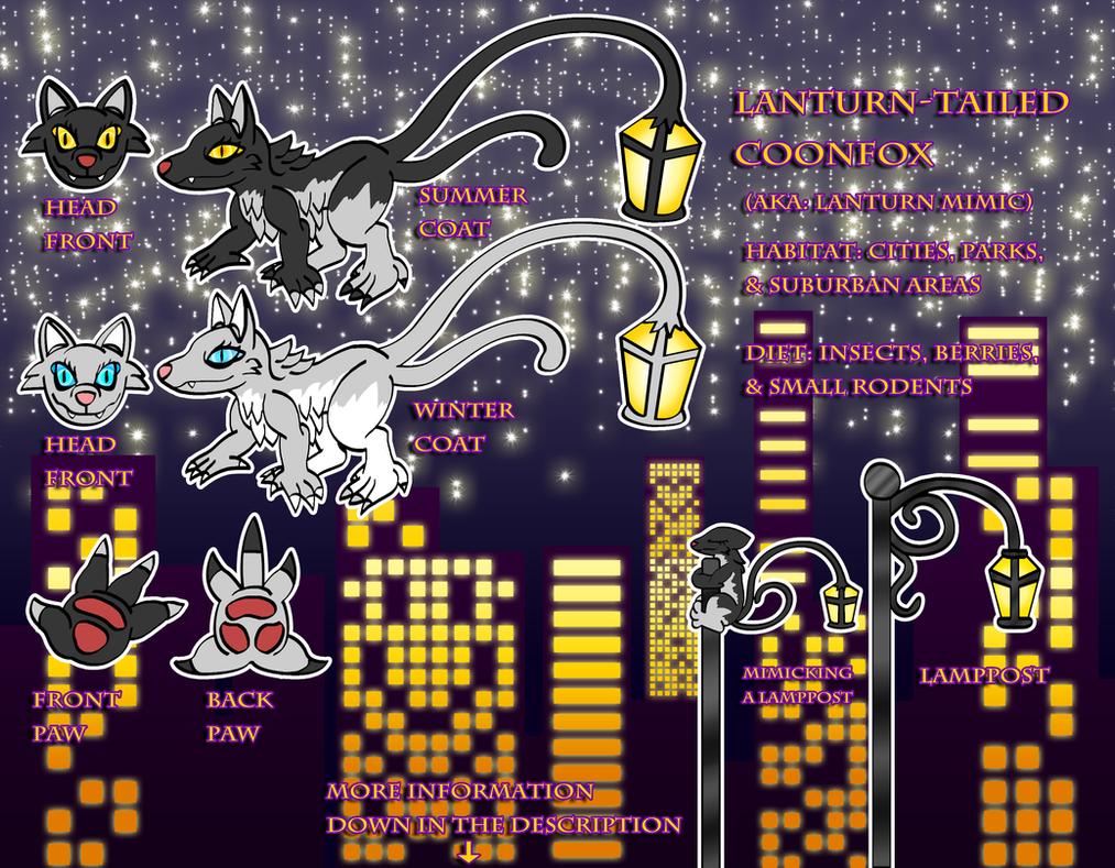 City Creature Contest -Lanturn Mimic- by spdy4