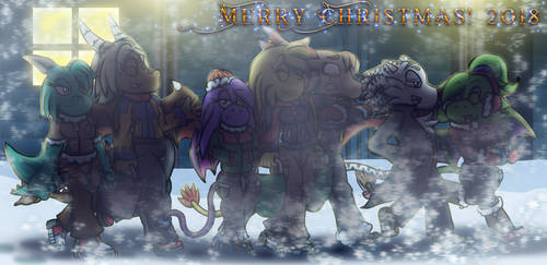Merry Christmas 2018 by spdy4
