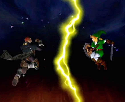Link vs. Ganondorf by spdy4