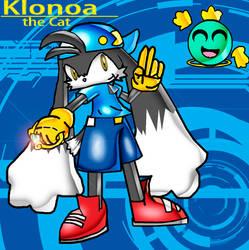 Klonoa: Sonic Style by spdy4