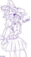 Taako and Ango doodle