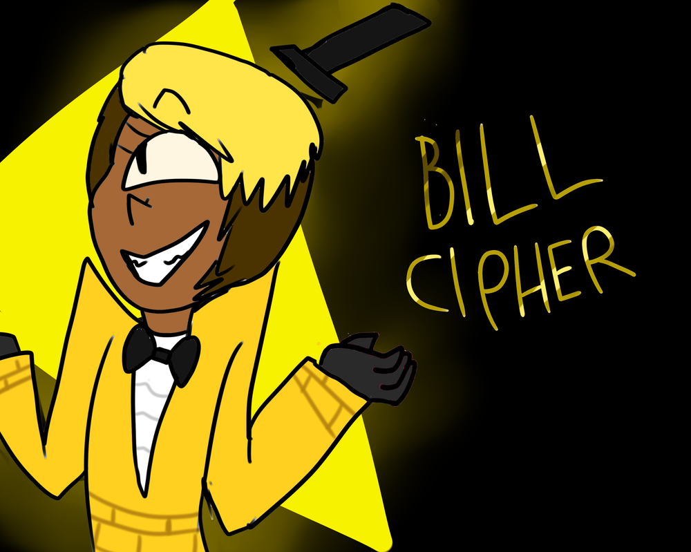 Bill Cipher! by Chickenfluffle