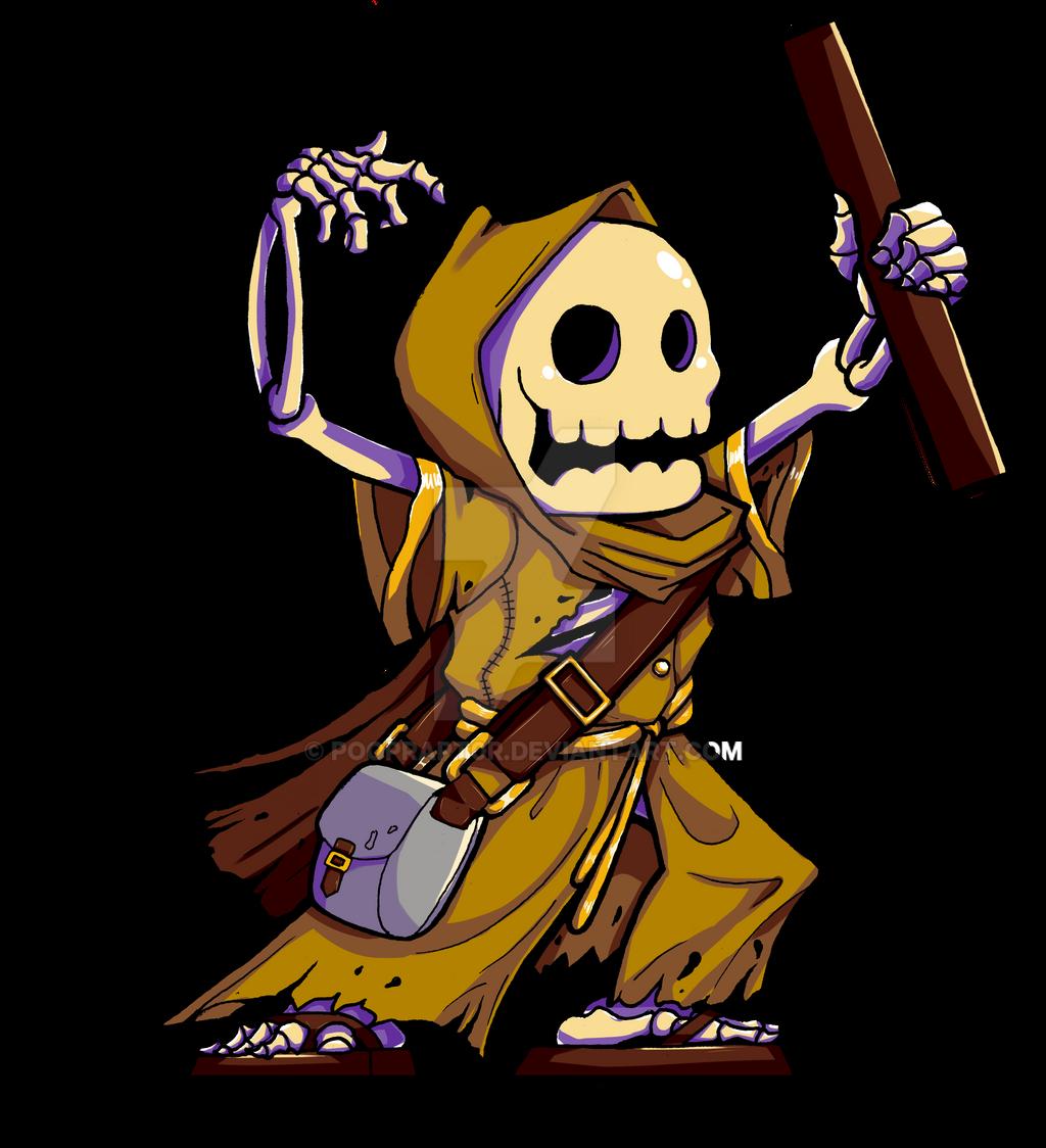Skeleton Mage by poopRapt0r on DeviantArt
