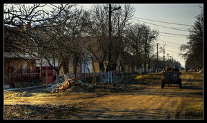 Rural taxi HDR by Club-Romania