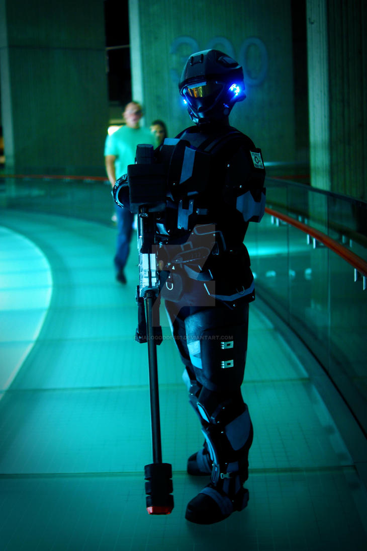 Halo ODST Sniper by HaloGoddess1
