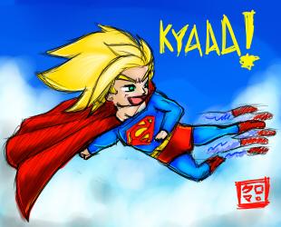 Goku-El by Kuro-kuma
