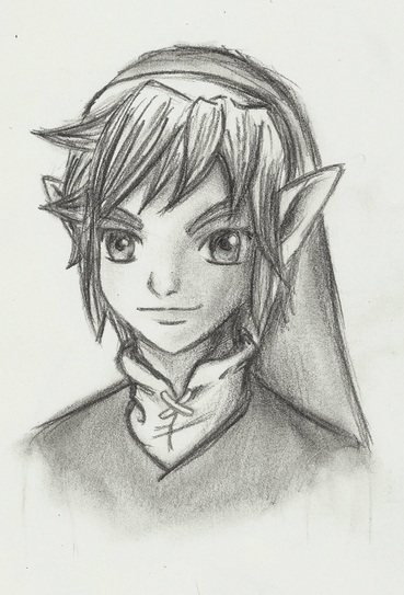 Twilight Princess Young Link by Zeliga