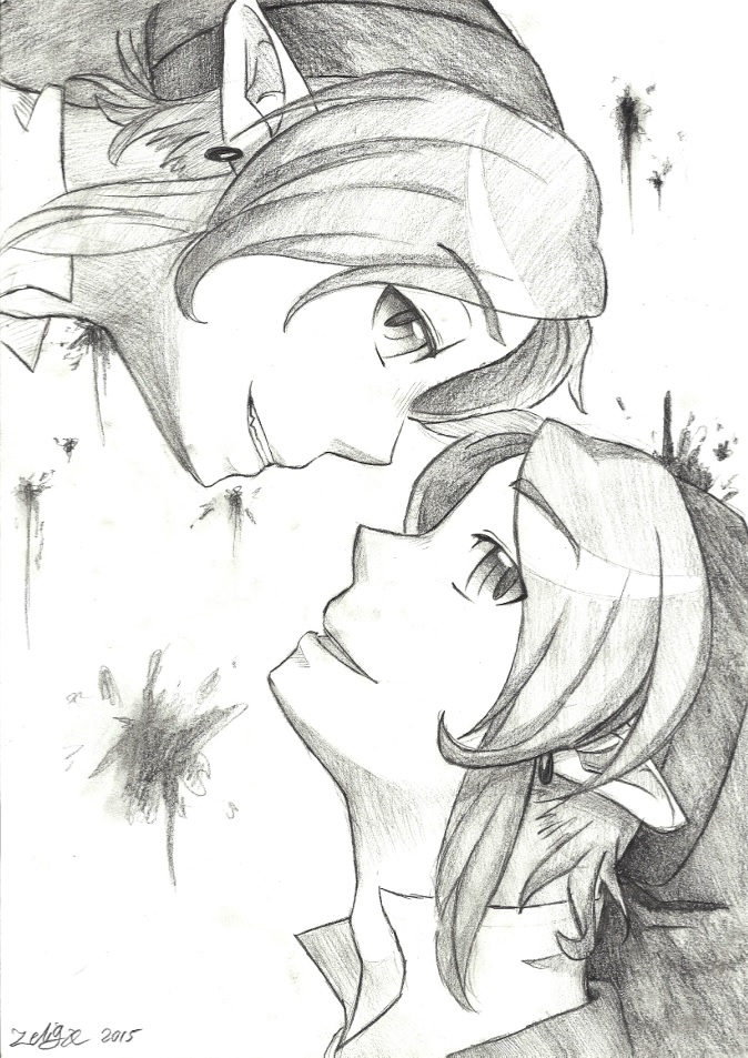 Two sides -- Dark head canons by Zeliga