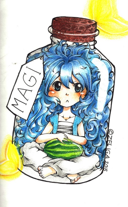 Bottled Hairday by Zeliga