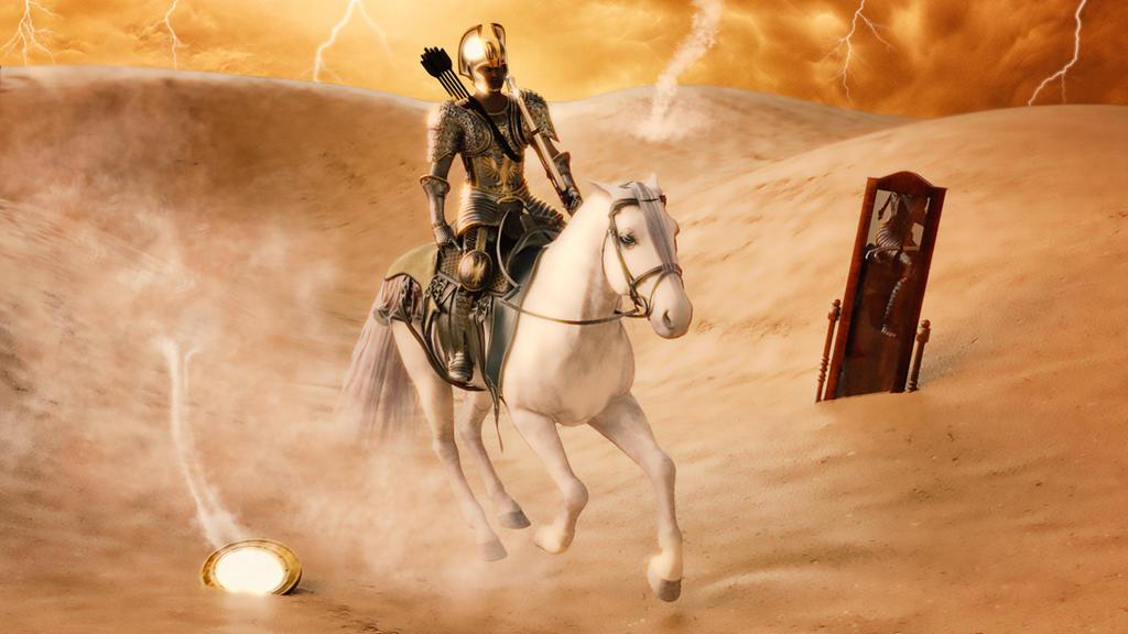 horseman of the Apocalypse 1 by angelblack65