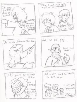 Max's Comic Journal