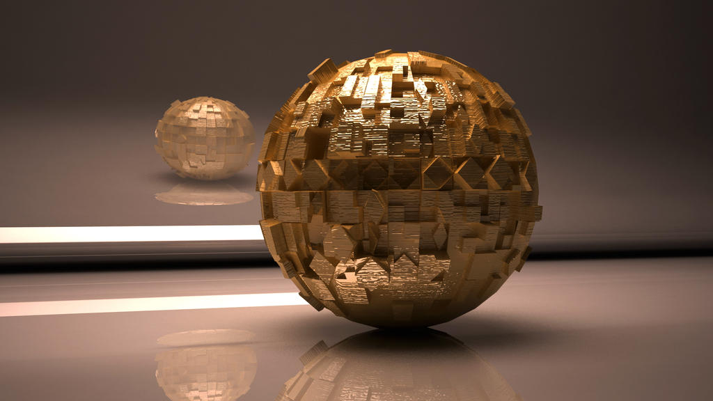 Absract Sphere by avasilivich