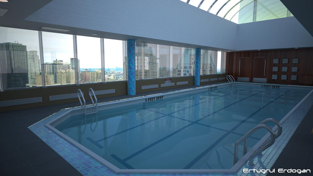 Hotel Rooftop Pool by avasilivich