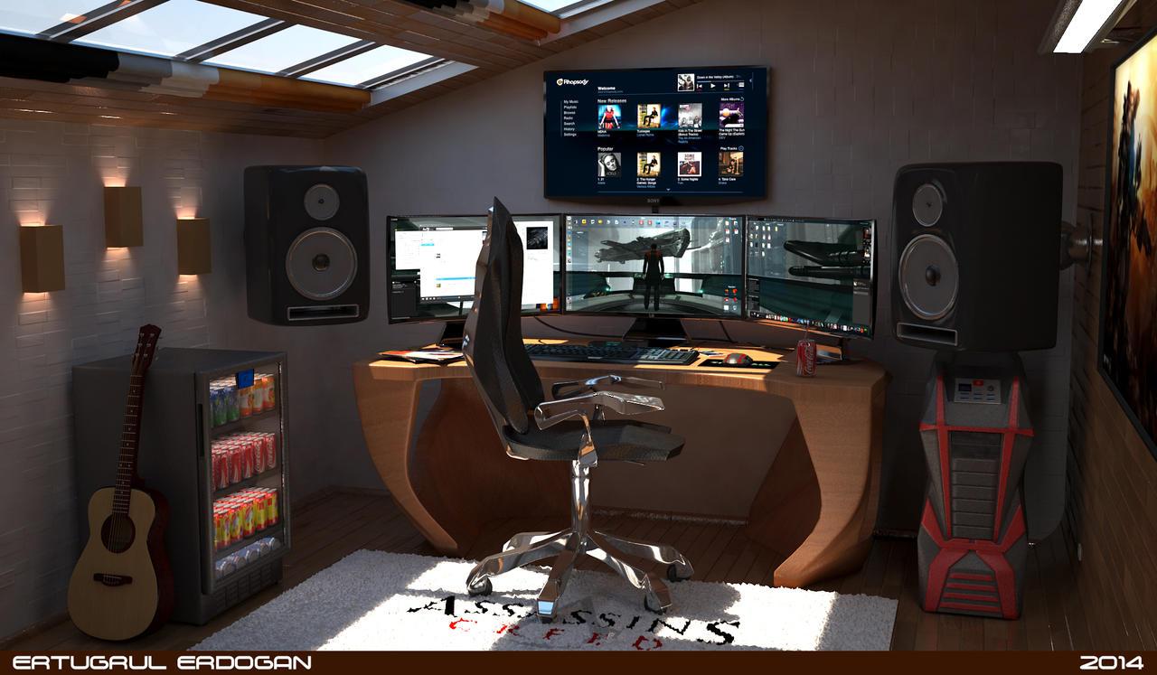 Дизайны комнат для геймеров своими руками