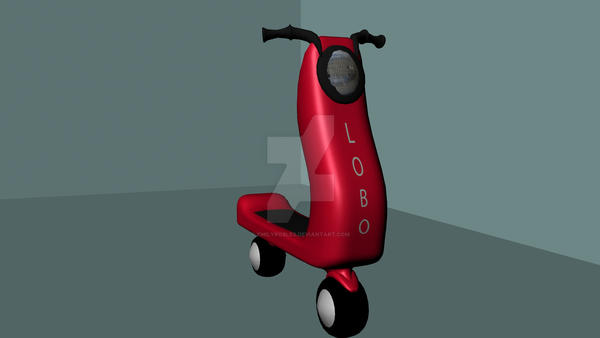 3D Scooter 1 by EmilyRobles