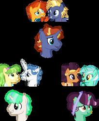 Random Ship Adopts - Unicorns by LittleJurnalina