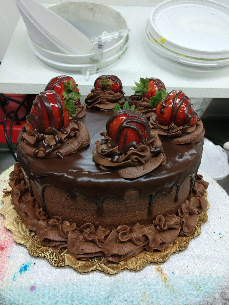 Chocolate Strawberry by moonstricken-luna
