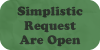 Simplistic Requests Are Open by Geoffery10