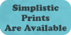 Simplistic Prints Are Available by Geoffery10