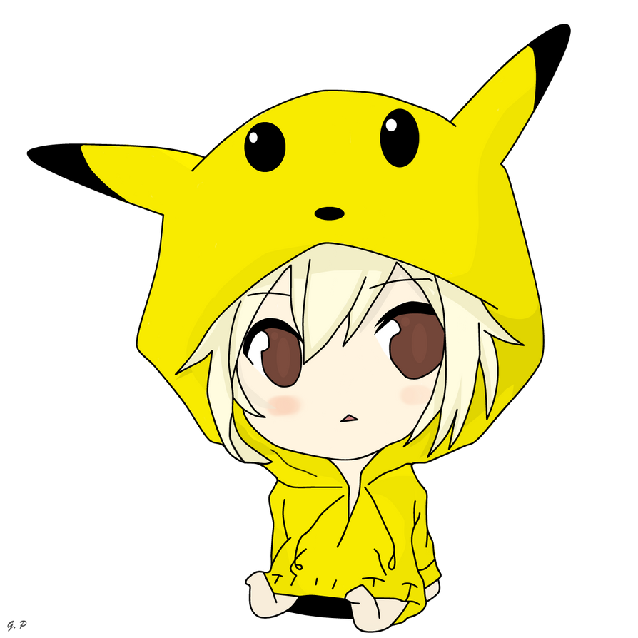 Chibi Pikachu Girl By Geoffery10