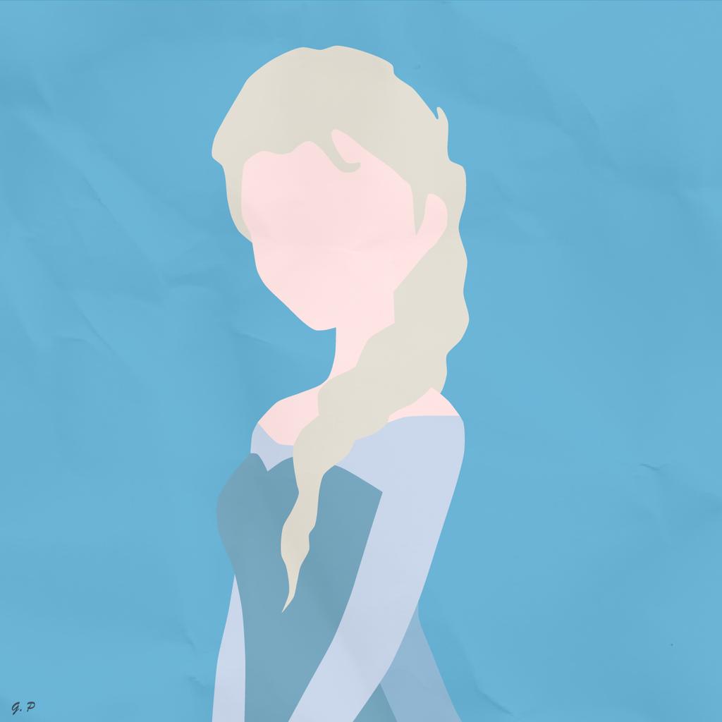 Elsa (Simplistic) by Geoffery10