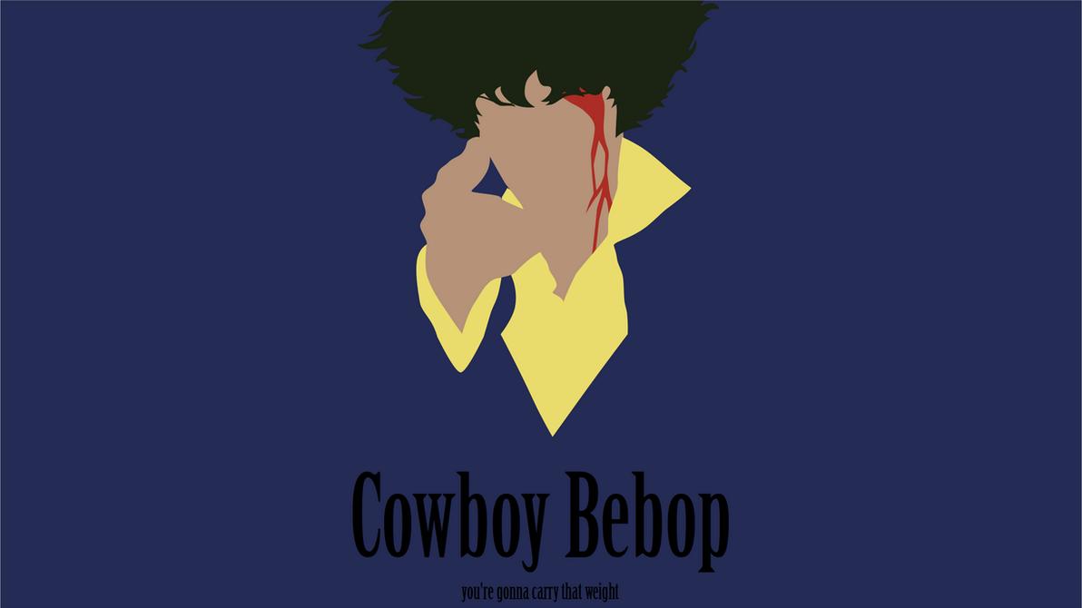 minimalist cowboy bebop wallpaper by porjin on deviantart