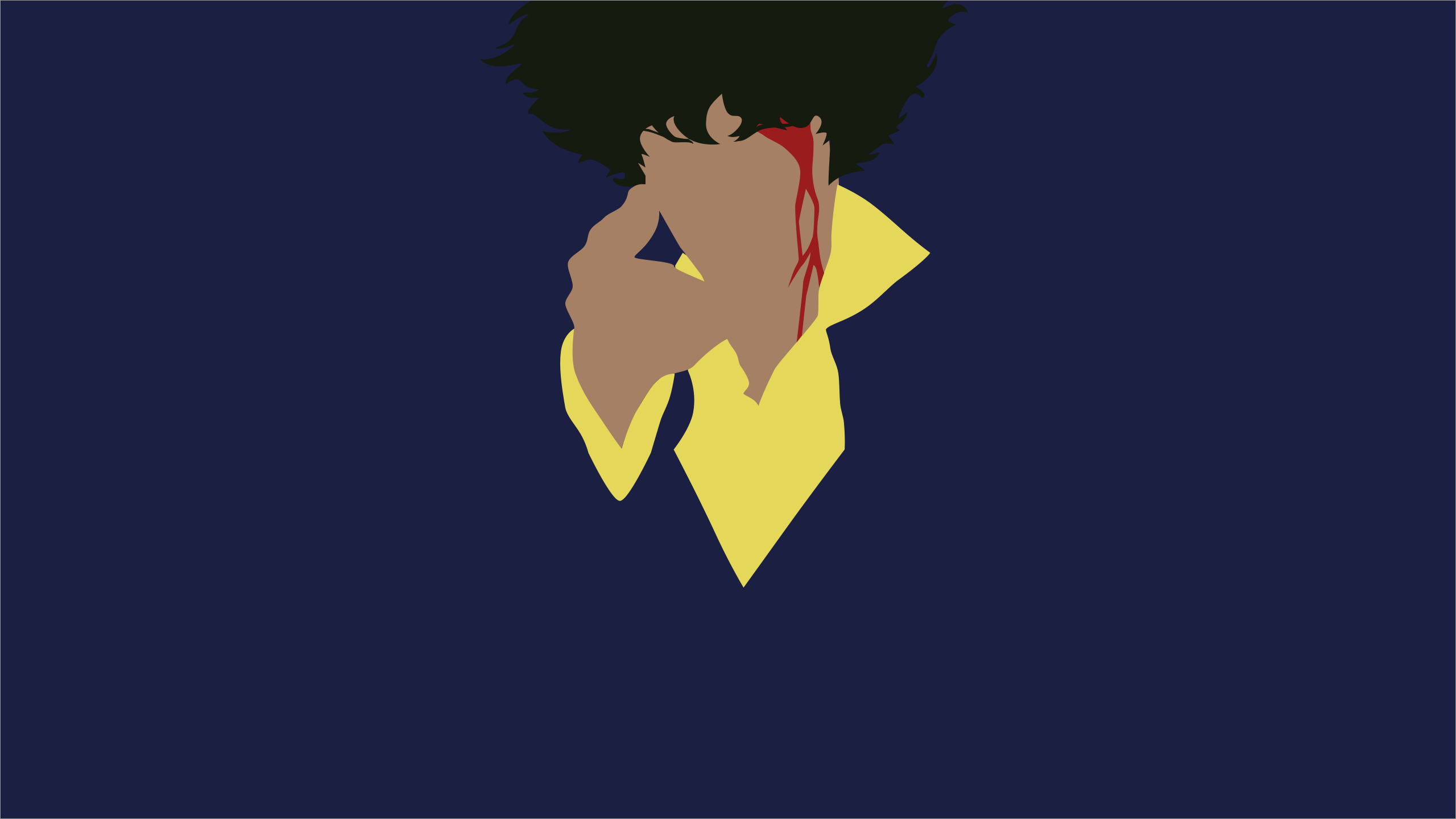 Minimalist cowboy bebop wallpaper v2 by porjin on deviantart for Deviantart minimal wallpaper